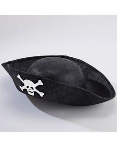 Cappello da Pirata Nero – Bambini