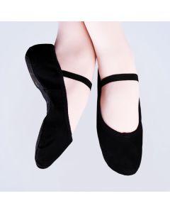 Scarpe da balletto in tela