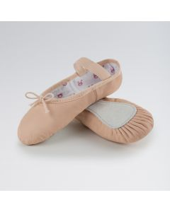 Bloch Bunnyhop Scarpa Balletto in Pelle Rosa