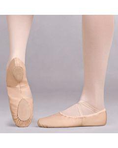 Capezio Cobra Scarpa da Balletto in Pelle Suola Smezzata