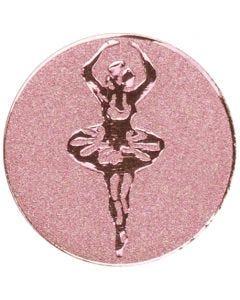 Centro del Trofeo di Metallo con Ballerina