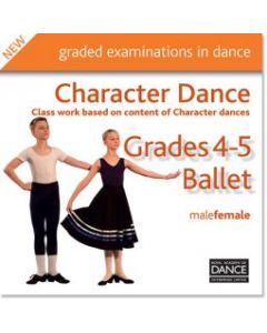CD  Grades 4-5 Character Dance