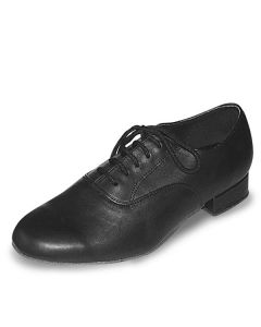 Roch Valley Patrick Wide Fit MenS Oxford Ballroom Leather Shoe 1 inch Heel