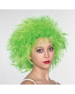 Parrucca Fata - Verde Fluo
