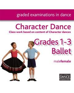 RAD CD Grades 1-3 Character