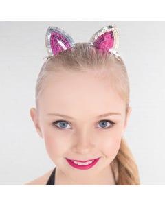 Cat Ears Sequin Hair Clips