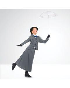 Costume da Mary Poppins con Papillon Rosso per Bambini