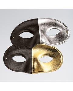 Maschera Bicolore Oro/Nero